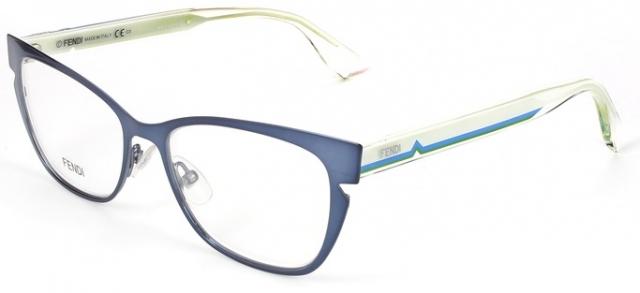 Óculos de grau Fendi 135 Azul 29c2ef5de1