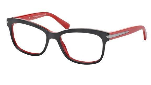 64cfc57b2afd1 Óculos de grau Prada 10RV Vermelho