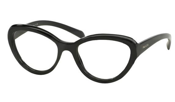 3aef21cef6d2d Óculos de grau Prada 25RV Preto