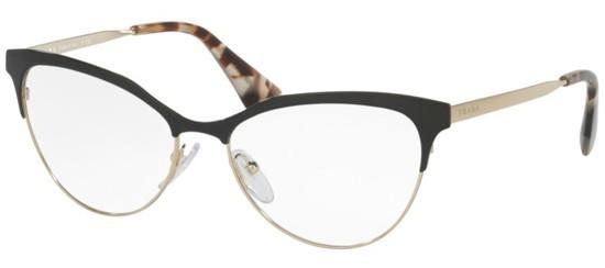 4db4b2d7206a6 Óculos de grau Prada 55SV Preto
