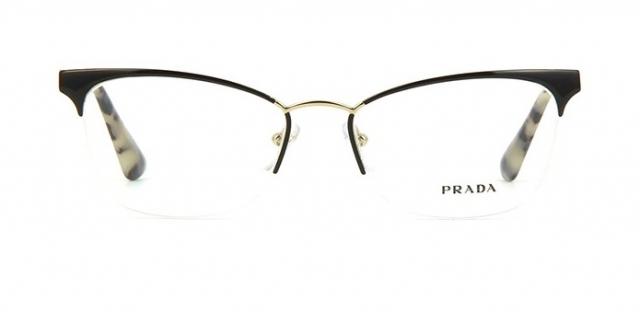 99b0342bd8216 Óculos de grau Prada 65QV Havana Nude