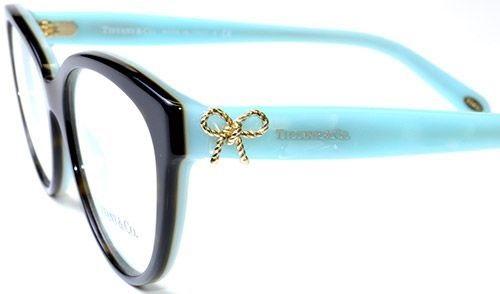 Óculos de grau Tiffany e Co. 2099 Tartaruga 9766cd5746