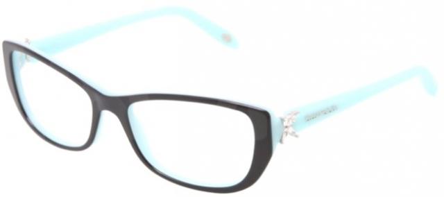 f22fb2145e280 Óculos de grau Tiffany e Co. 2044B Preto Turquesa