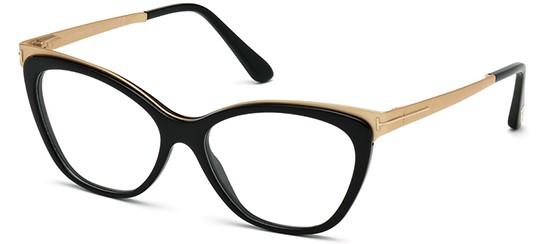 6dfaa3e66b5c9 Óculos de grau Tom ford 5374 Preto Dourado