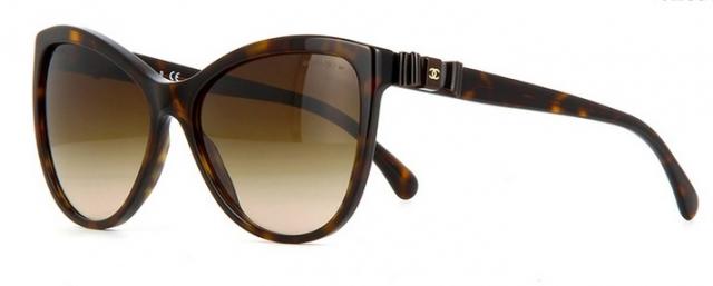 Óculos de sol Chanel 5281Q Tartaruga Lacinho 97062b4b5d