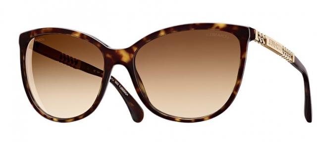 Óculos de sol Chanel 5352 Tartaruga 39bd3bde4d