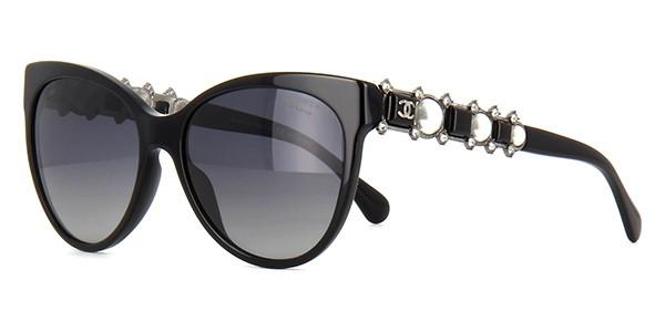 Óculos de sol Chanel Bijou 5336HB Preto ff6781709c