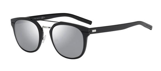 23c15866607cc Óculos de sol Dior Al13.5 preto cinza espelhado
