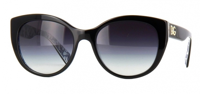 46abe0ff41954 Óculos de sol Dolce e Gabbana 4217 Preto