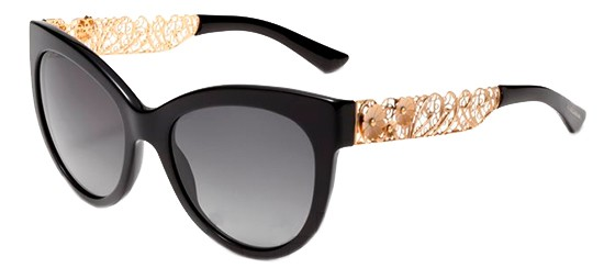 9fed7fa30bfe6 Óculos de sol Dolce Gabbana Rendado Preto 4211
