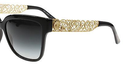 078bb5a9e3b05 Óculos de sol Dolce Gabbana Rendado Preto 4212