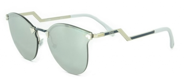 e6c06d26bb1c9 Óculos de sol Fendi Iridia 40 Verde Agua