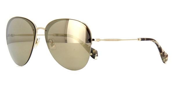 f35d1539ea2b9 Óculos de sol Miu Miu 53PS Dourado