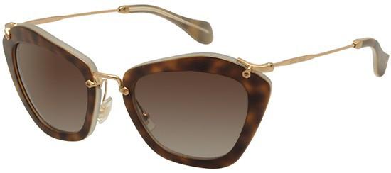 Óculos de sol Miu Miu Noir 10NS Tartaruga 94c43efbdd