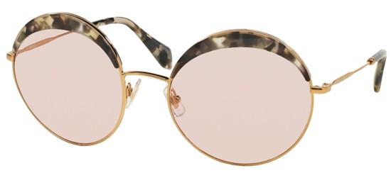 e37a76d2156c6 Óculos de sol Miu miu Noir 51QS Havana Nude