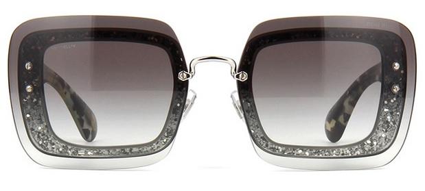 306e987da7901 Óculos de sol Miu Miu Reveal 01RS Gray