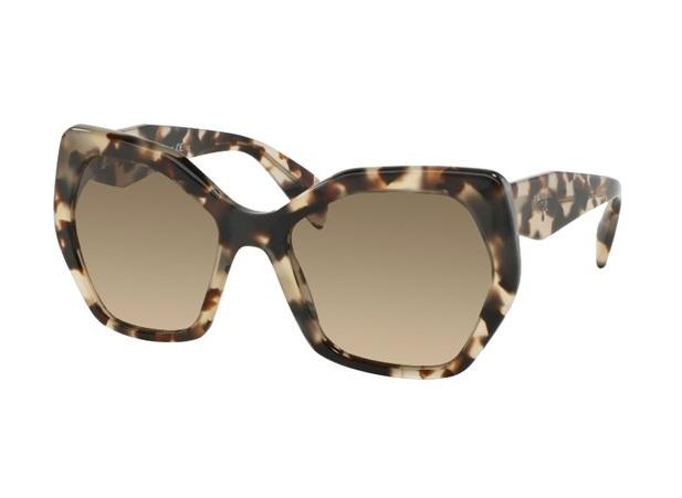 d1307ca259b65 Óculos de sol Prada 16RS Havana Bege