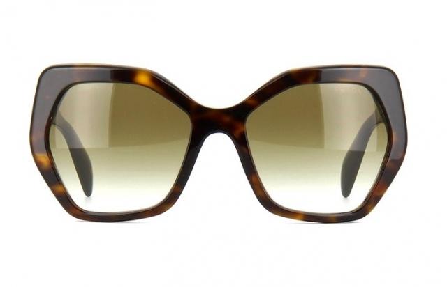 Óculos de sol Prada 16RS Havana Marrom 12203e3a09