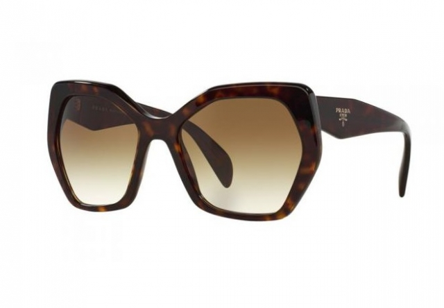 802105e6aa9f0 Óculos de sol Prada 16RS Havana Marrom