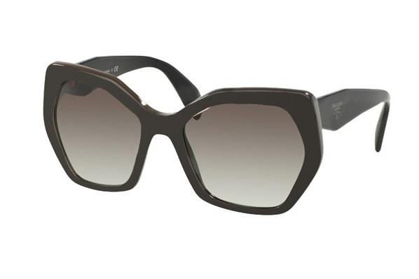 ec106df516dbd Óculos de sol Prada 16RS Preto