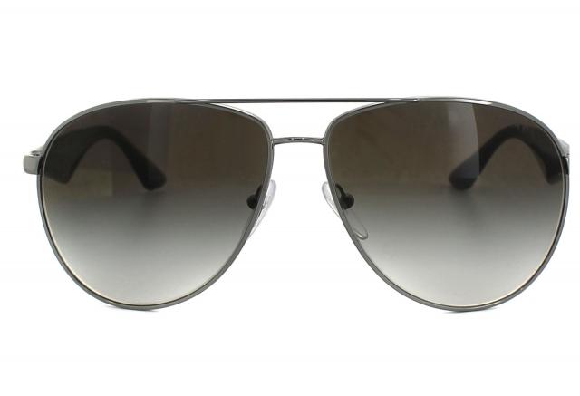d3af539102b4d Óculos de sol Prada Aviador 53QS Cinza Degradê