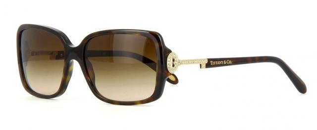 83c8e3f5bad94 Óculos de sol Tiffany e Co. 4043B Tartaruga