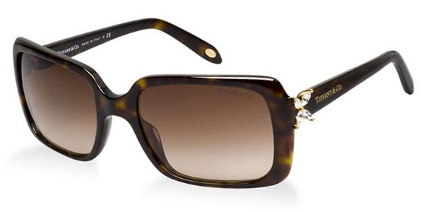 Óculos de sol Tiffany e Co. 4047B Strass Tartaruga f4869875f0