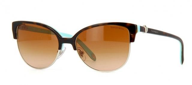 9550cdd150729 Óculos de sol Tiffany e Co. 4080 Tartaruga Turquesa