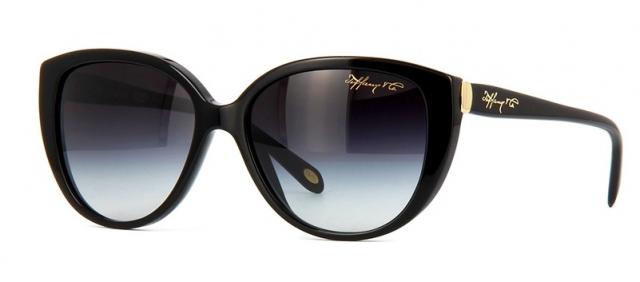 b0ff968f04fb1 Óculos de sol Tiffany e Co. 4082 Preto
