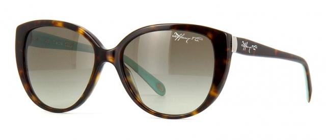 60f669c9421fd Óculos de sol Tiffany e Co. 4082 Tartaruga Turquesa