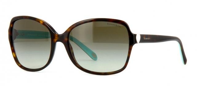 d0f0727fa87f5 Óculos de sol Tiffany e Co. 4085H Tartaruga