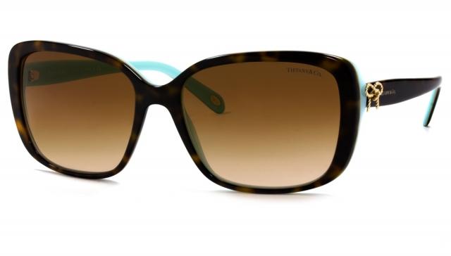 ebe316bc5e9ac Óculos de sol Tiffany e Co. 4092 Tartaruga Turquesa