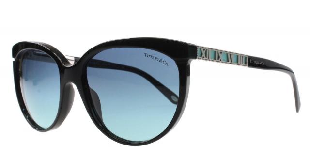 9c04f535f5b78 Óculos de sol Tiffany e Co. 4097 Preto
