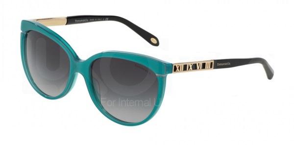 21bb136082941 Óculos de sol Tiffany e Co. 4097 Turquesa