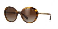 Óculos de sol Chanel 5353 Havana Esverdeado 9e11d834b5