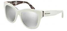 cc6687e0b9ea0 Óculos de sol Dolce e Gabbana Mama Brocade 4270 Branco