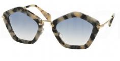 c61aaa87d3f8b Óculos de sol Miu Miu 06OS Havana Nude